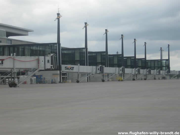 Rampe Flughafen Berlin Brandenburg